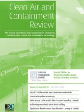 Clean Air and Containment Review (CACR) Issue 34, April 2018